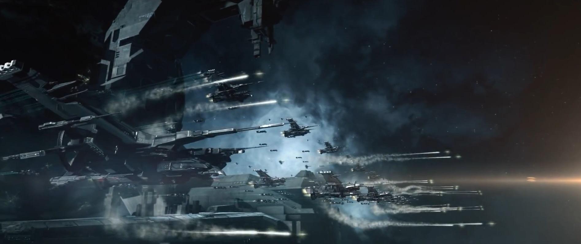 летать на космическом корабле в игре