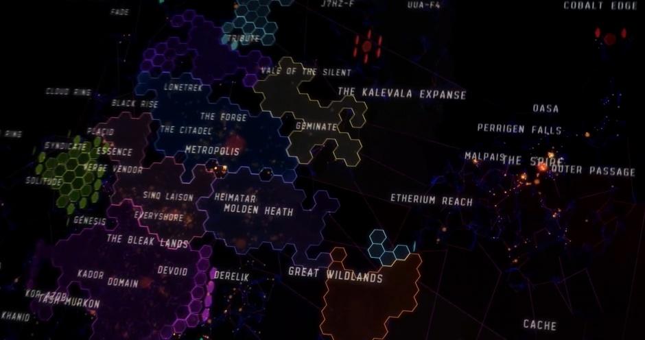 обзор игры eve - вселенная