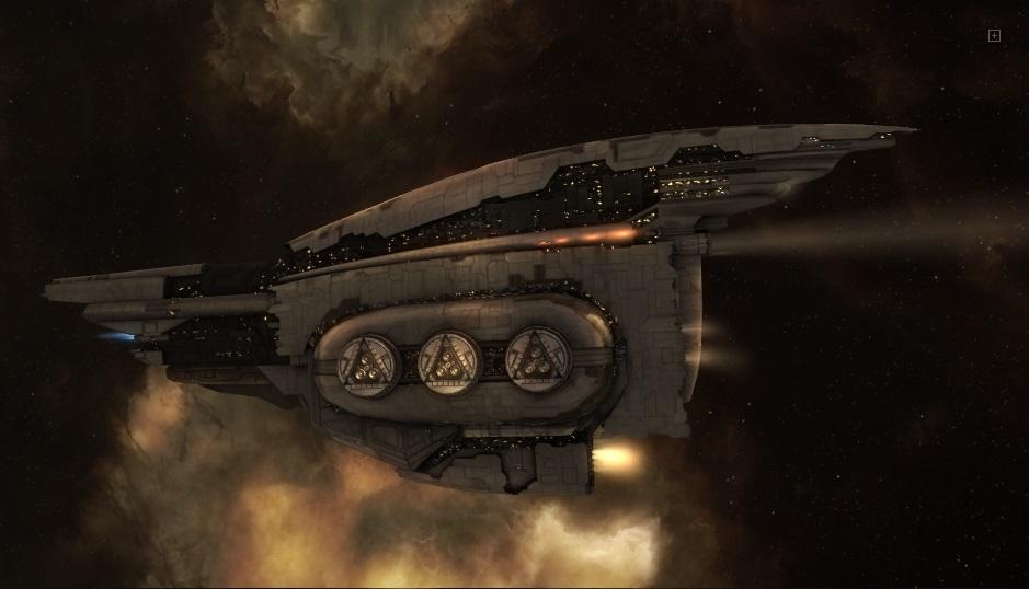 космический корабль Amarr-Dreadnought-Revelation