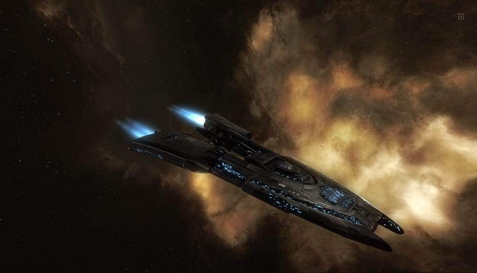 космический корабль Amarr-Recon-Curse