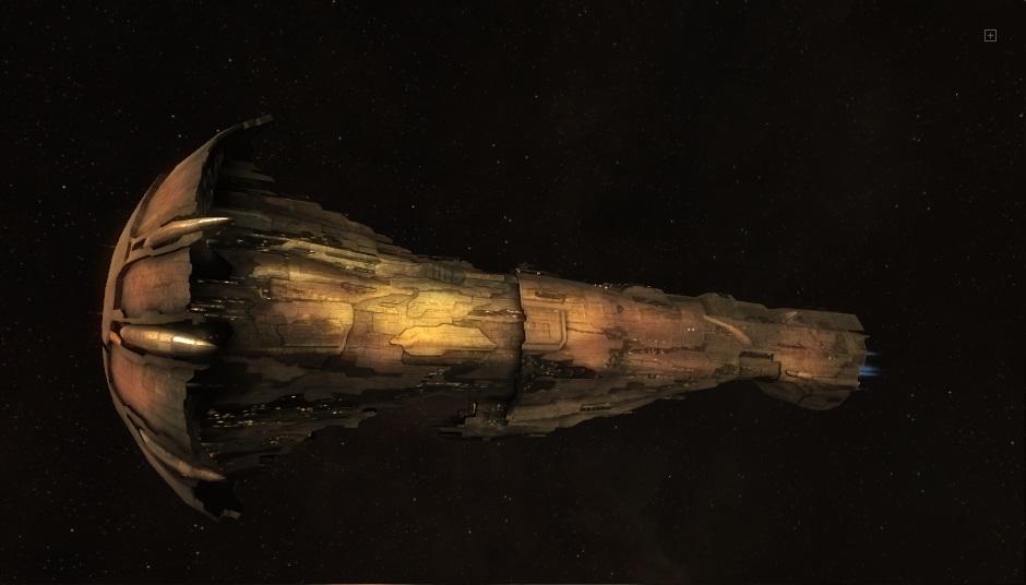 космический корабль Amarr-Titan-Avatar